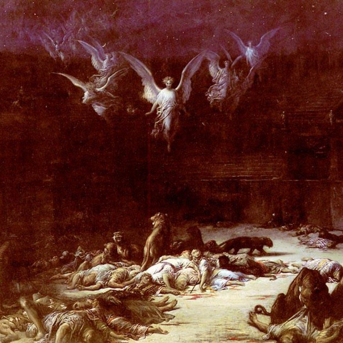 The Christian Martyrs Gustave Dore