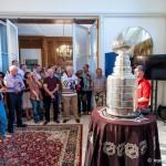 stanley cup w polskim konsulacie w chicago