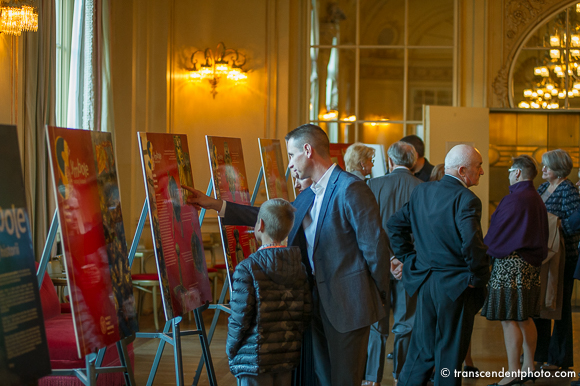 """Gali Paderewskiego towarzyszyła wystawa zatytułowana """"Symbole naszej historii"""" przygotowana przez IPN"""