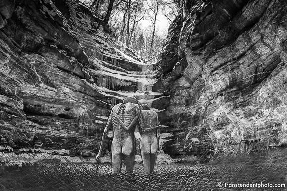 O miłości - collage Beksiński/Lachowski