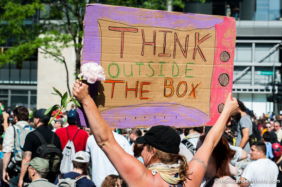 to nie był zły sen - think outside the box