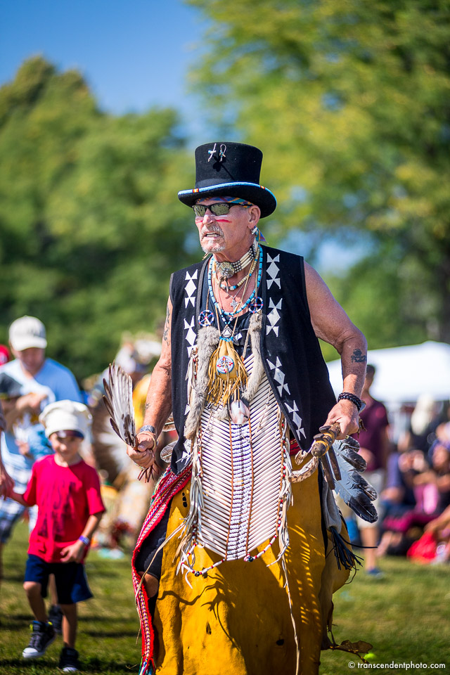 Podczas 63. Pow Wow w Busse Woods, Illinois