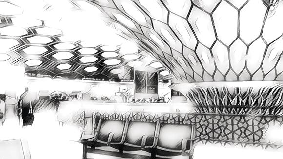 Miliardy, drobnych... zdjęcia przedstawia lotnisko w Abu Dhabi