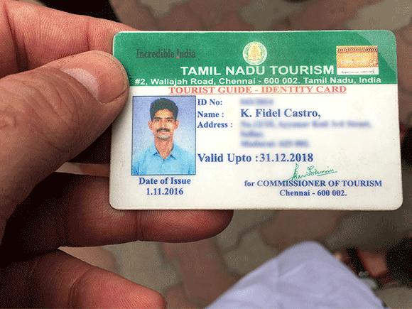W Madurai spotkałem Fidela Castro