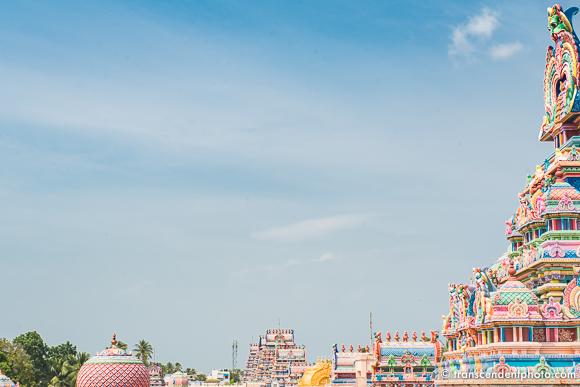 Złota Vimana nad sanktuarium w Srirangam