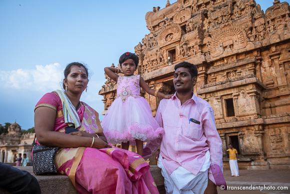Świątynia Brihadeeswarar – z niespotykaną lekkością pokonującą ciężką bryłę kamienia.