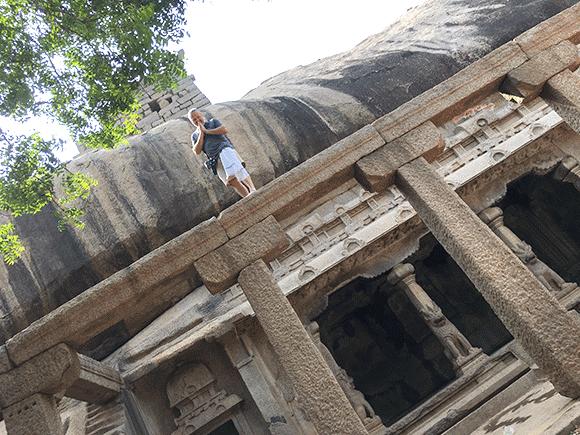 Do Pondicherry i nieco dale - Mahabalipuram to nie tylko Siedem Pagód