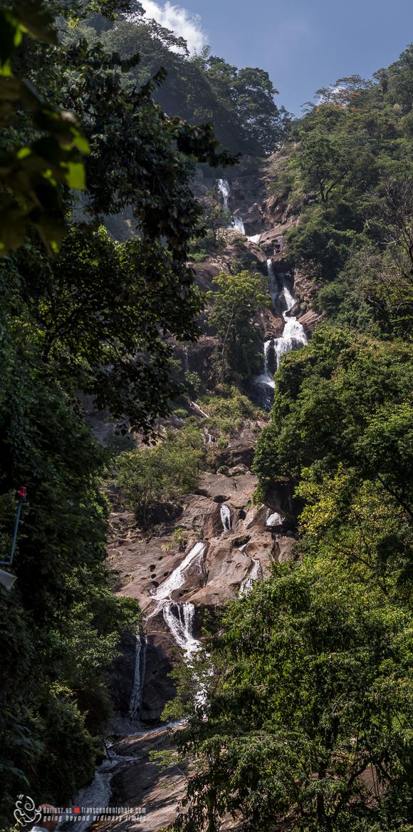 Wodospady Siruvani podczas ostatniej wizyty w Coimbatore