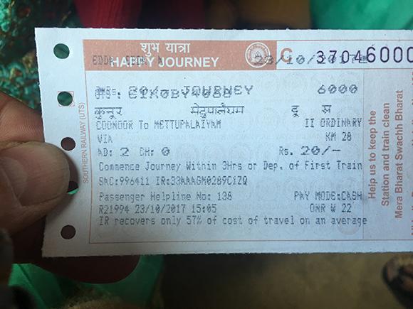 Błękitne Góry w Ooty – bilet na wyjątkowy przejazd koleją zębatą