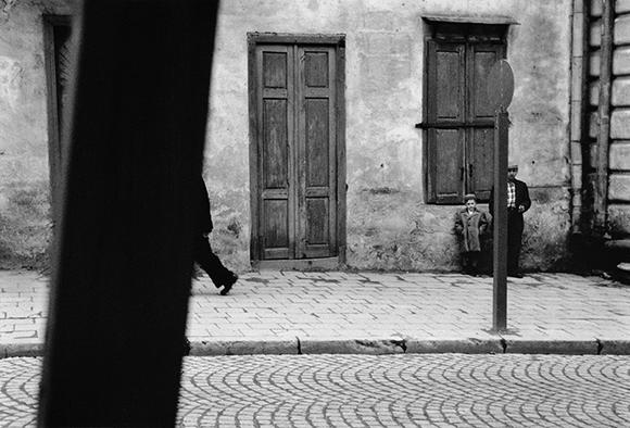 Sanok, fot. Zdzisław Beksiński ze zbiorów Muzeum Historycznego w Sanoku