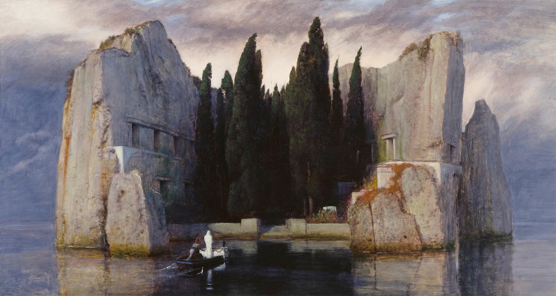 sle of the Dead / Wyspa Umarłych trzecia wersja obrazu