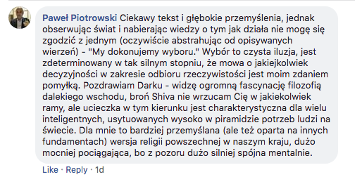 FB komentarz