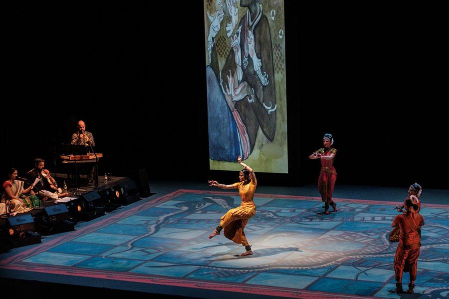Indie, taniec tradycyjny