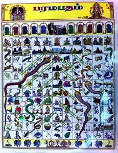 Plansza do gry węże i drabiny