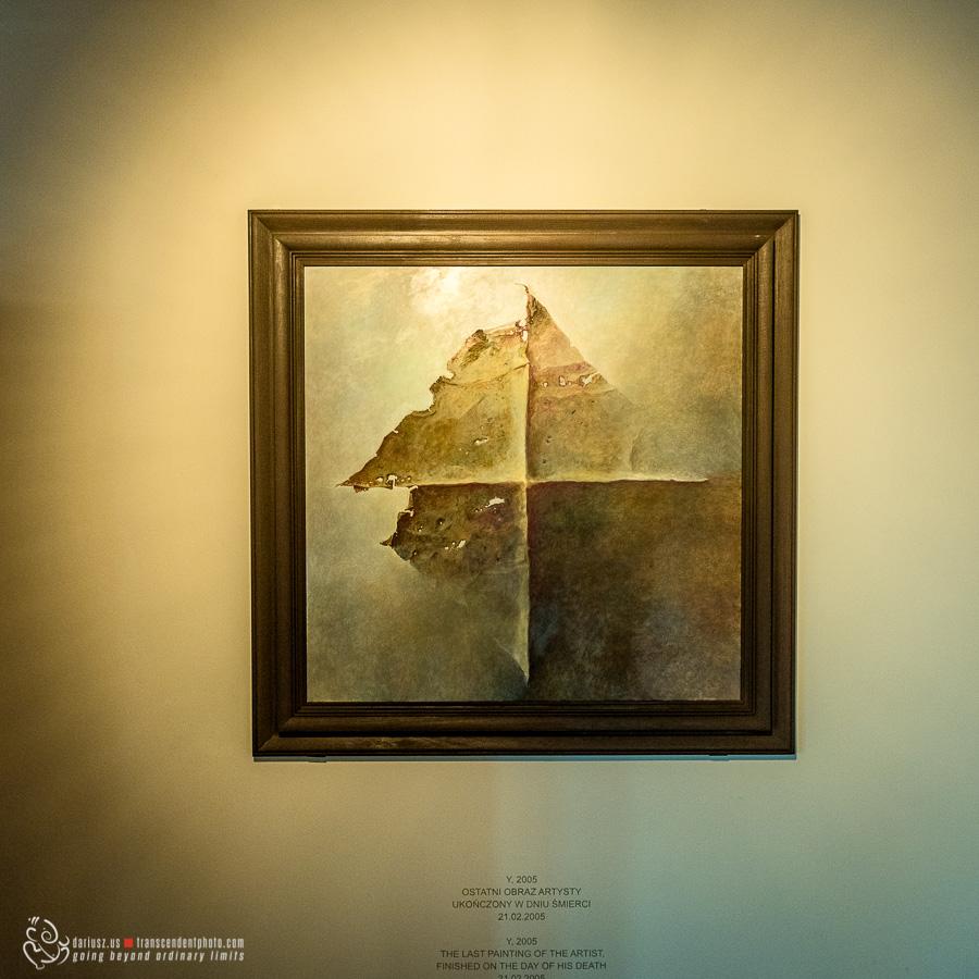 Ostatni obraz Beksińskiego