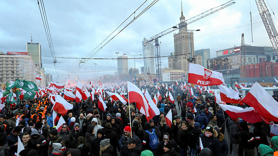 Polish White Supremacists Turn Trump's Words into Rally ... Polish White Supremacists Turn Trump's Words into Rally