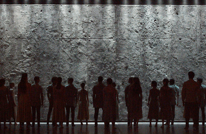 The Wall Giselle by Akram Khan Photo: Laurent Liotardo