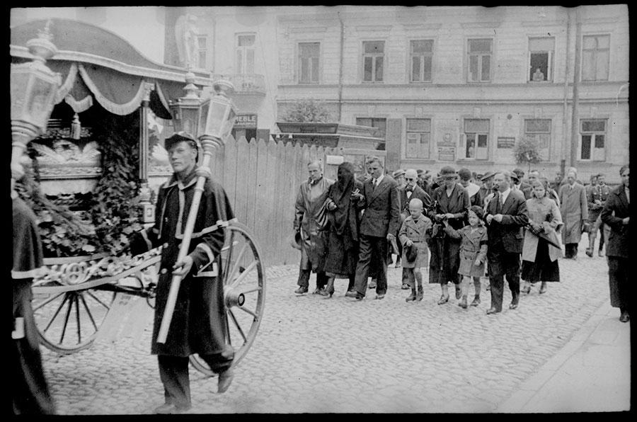 Białystok, 25 czerwca 1936 roku, Bolesław Augustis. Fotografia pochodzi ze zbiorów projektu albom.pl