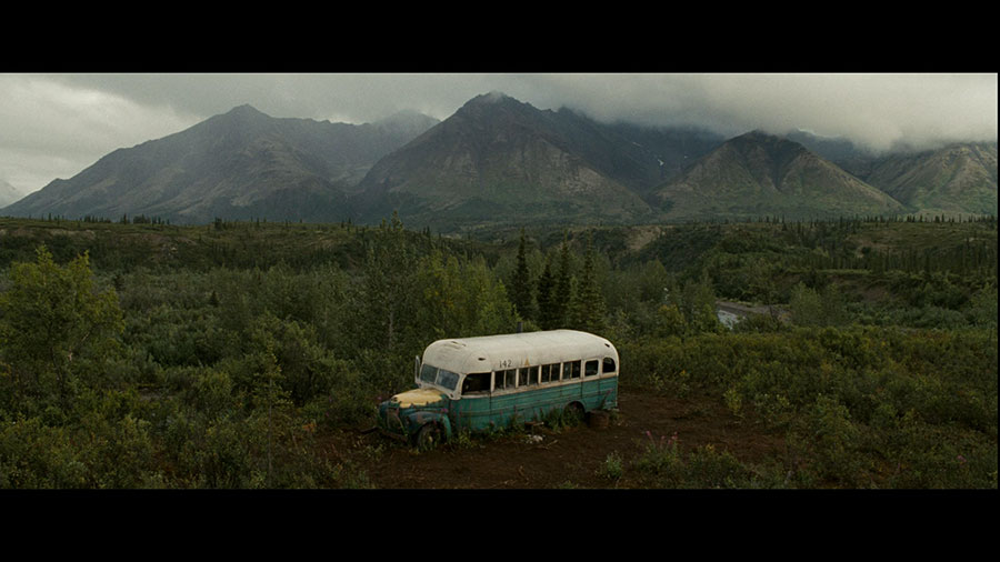Kadr z filmu Into the wild