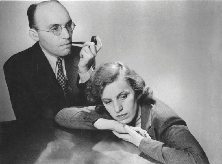 Kurt Weill z żoną