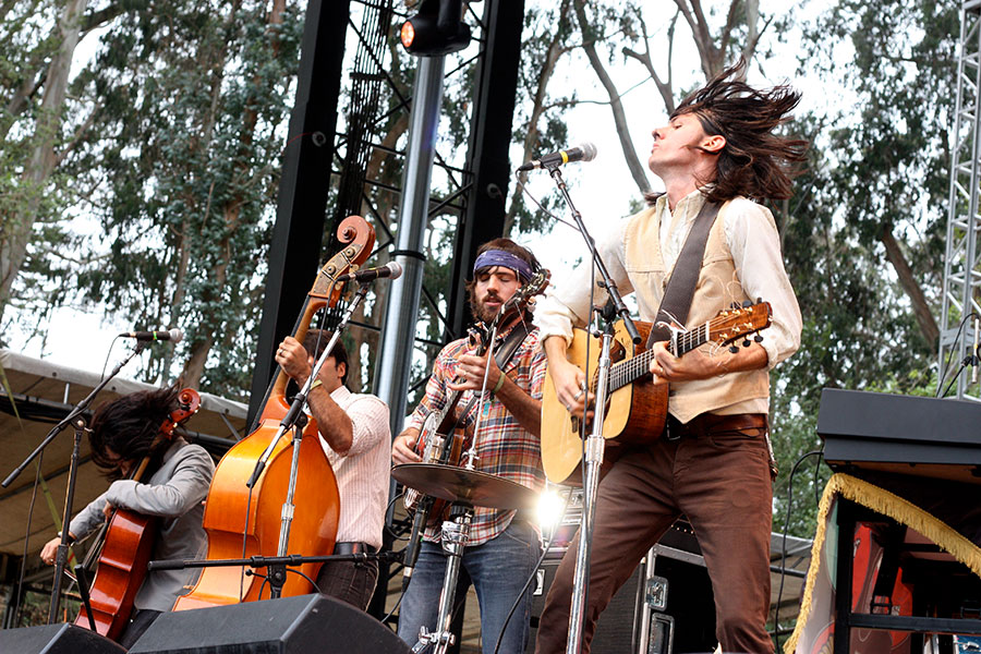 Zespół The Avett Brothers