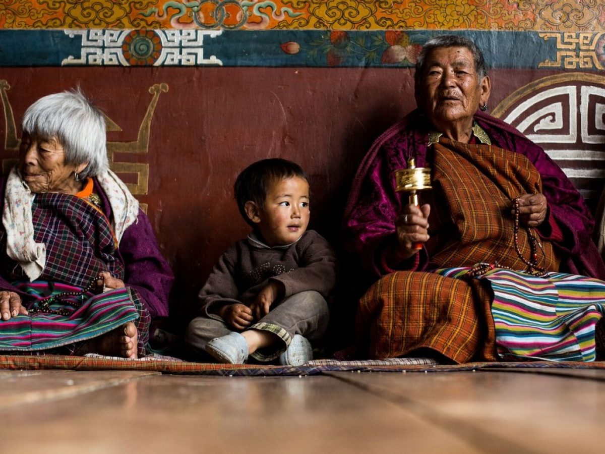 Crossin Bhutan - kadr z filmu