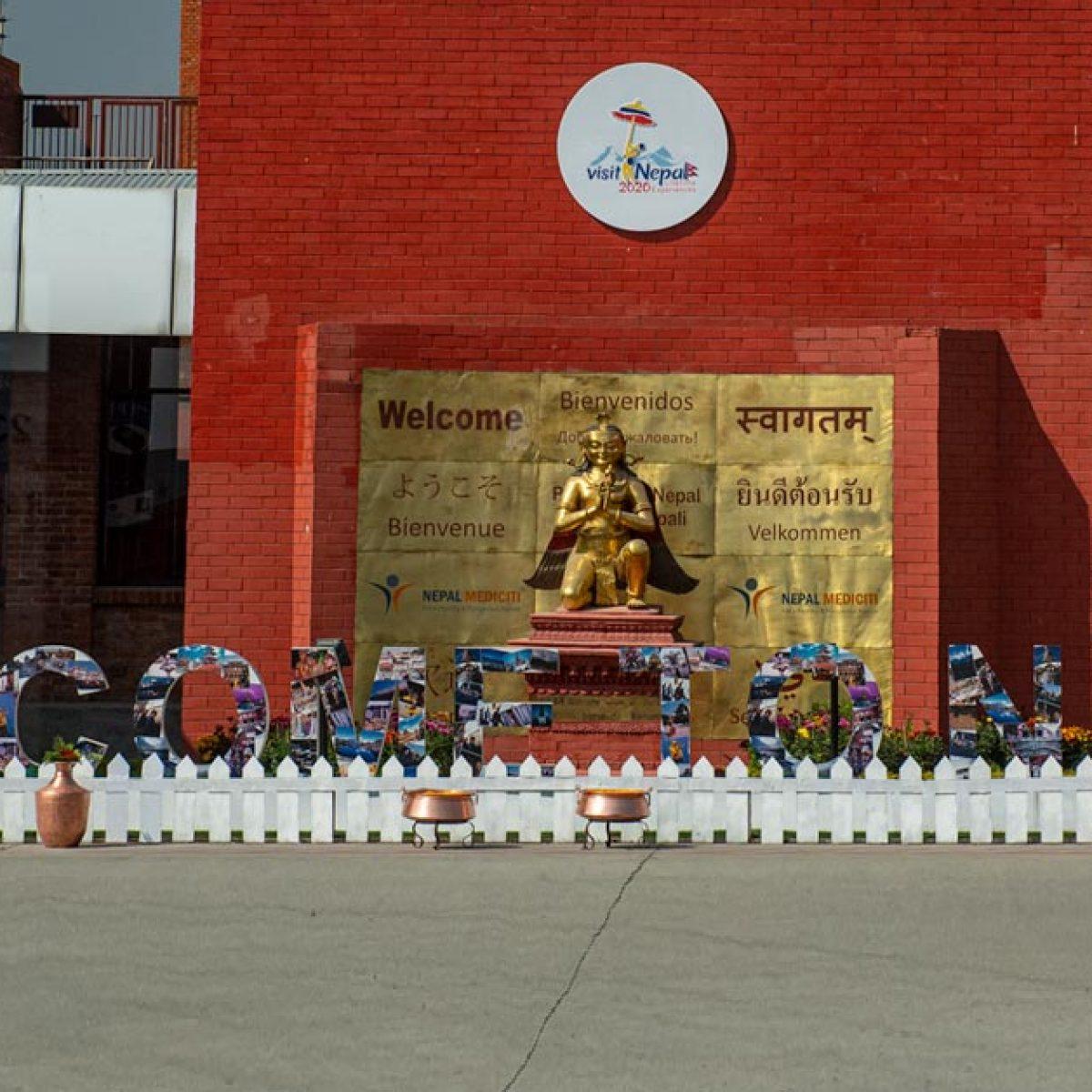 Katmandu lotnisko, Nepal
