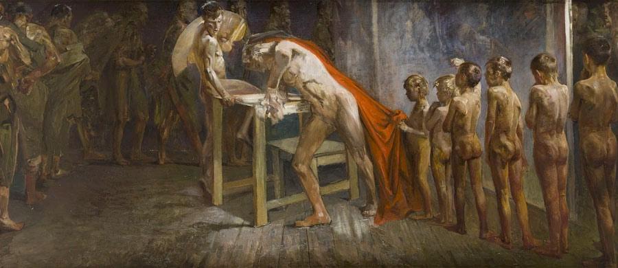 Jacek Malczewski - Geniusz w pracowni malarskiej