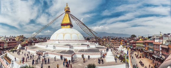 Boudha Stupa - panorama