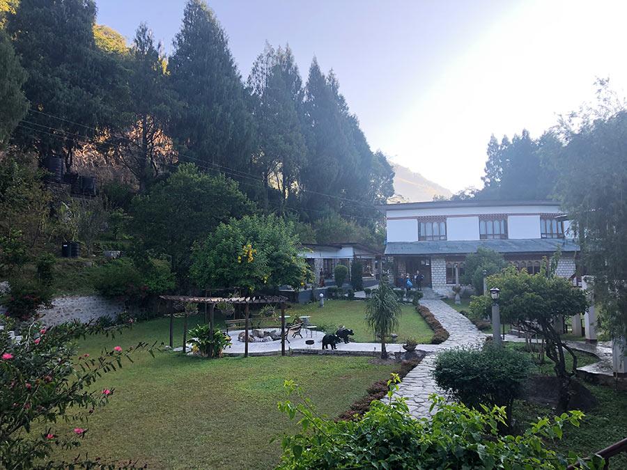 Pierwszy hotel w Bhutanie