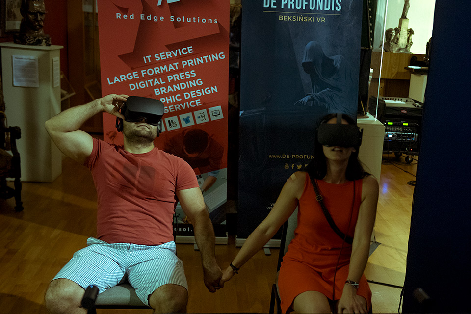 Instalacja VR Beksinski De Profundis
