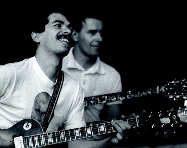 Carlos Santana & John McLaughlin, Chicago 1973