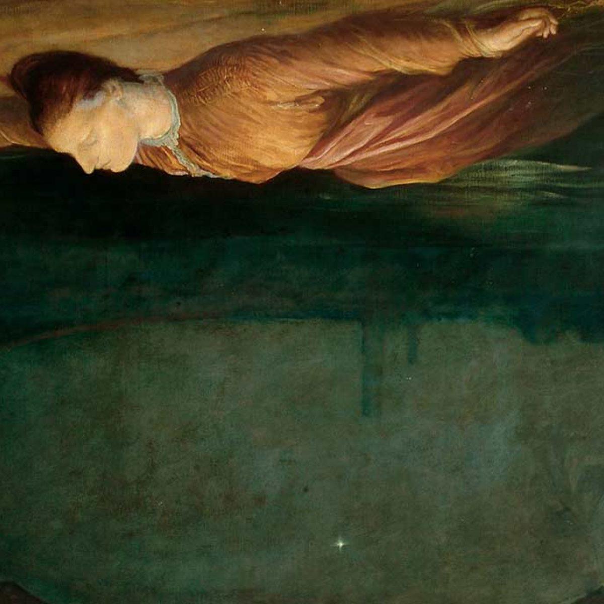 Obraz George Frederick Watts Found Drowned