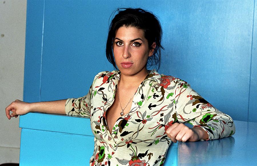 Amy Winehouse na zdjęciu Paula Bergena