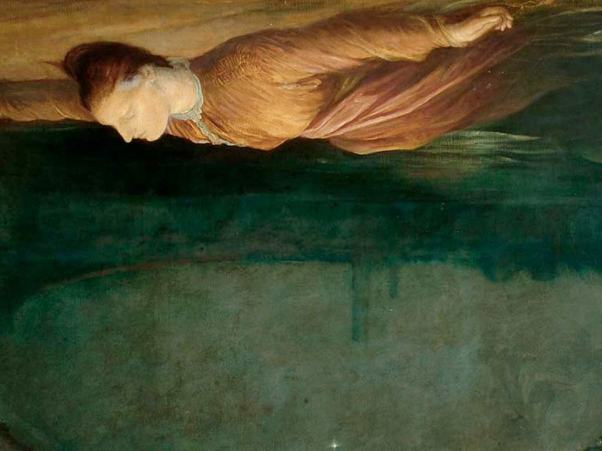 Obraz George Frederick Watts Found Drowned