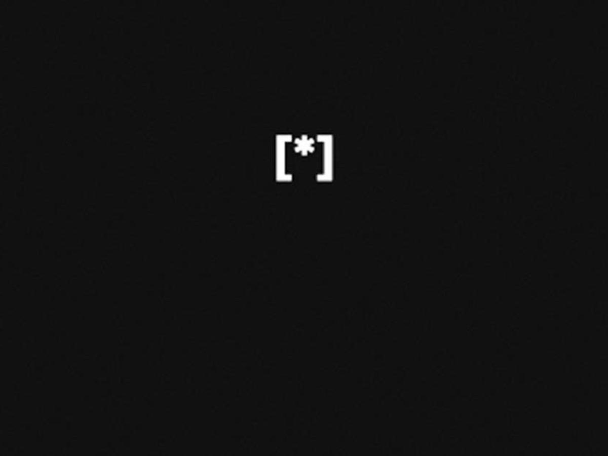 Akademia Marzen - znaki ASCII przedstawiające zapalony znicz