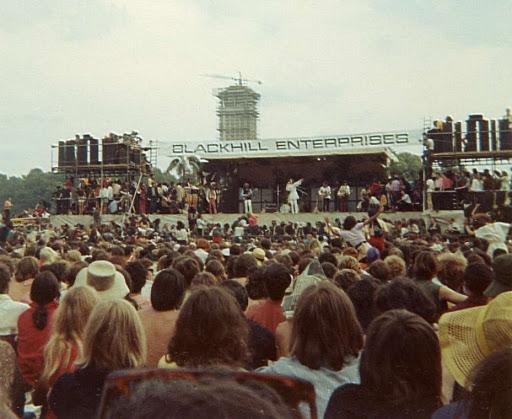 Londyn 1968, Hyde Park, darmowe koncerty