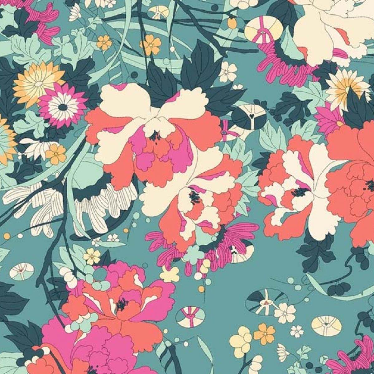 Wszystko czego ci trzeba to Flower Power kwiaty i raz jeszcze kwiaty!