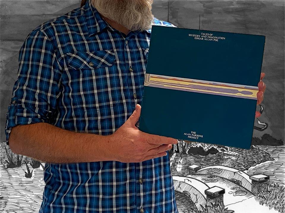 Na zdjęciu prezentuję okładkę pierwszego albumu Alan Parsons Project