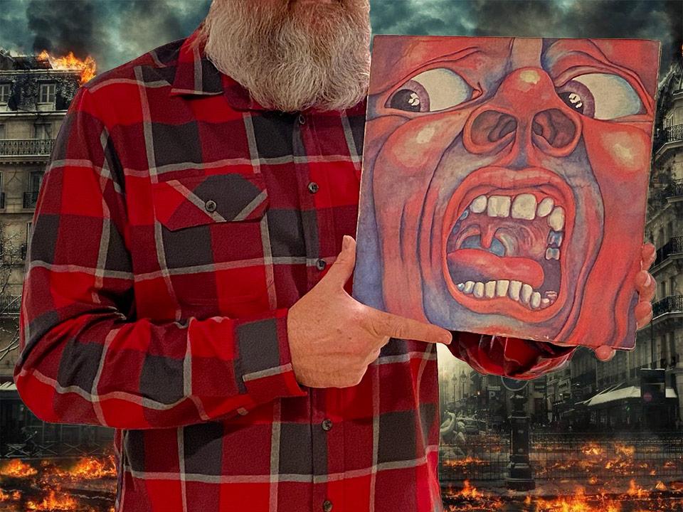 Trzymam w ręku pierwszy album King Crimson