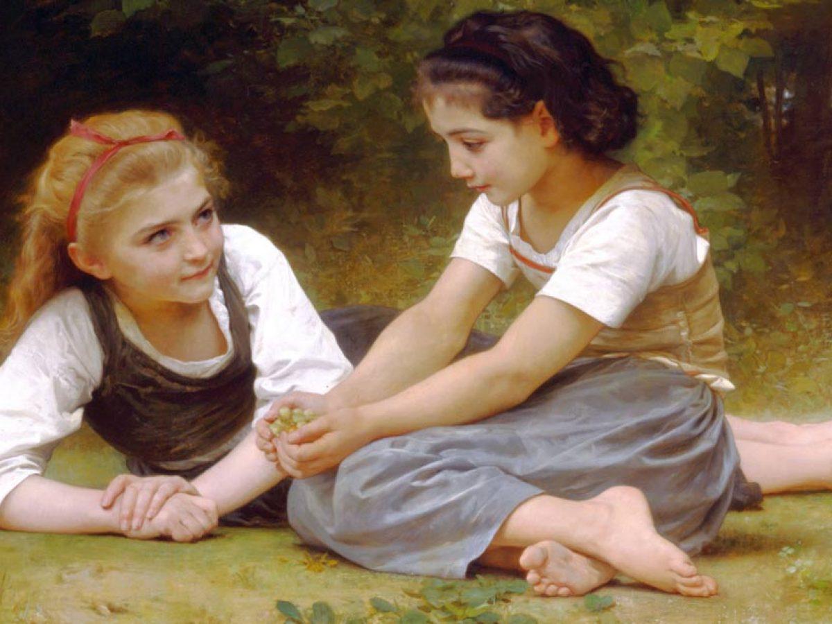 Empatia, zrozumienie tej drugiej osoby - Les noisettes aka The nut gatherers
