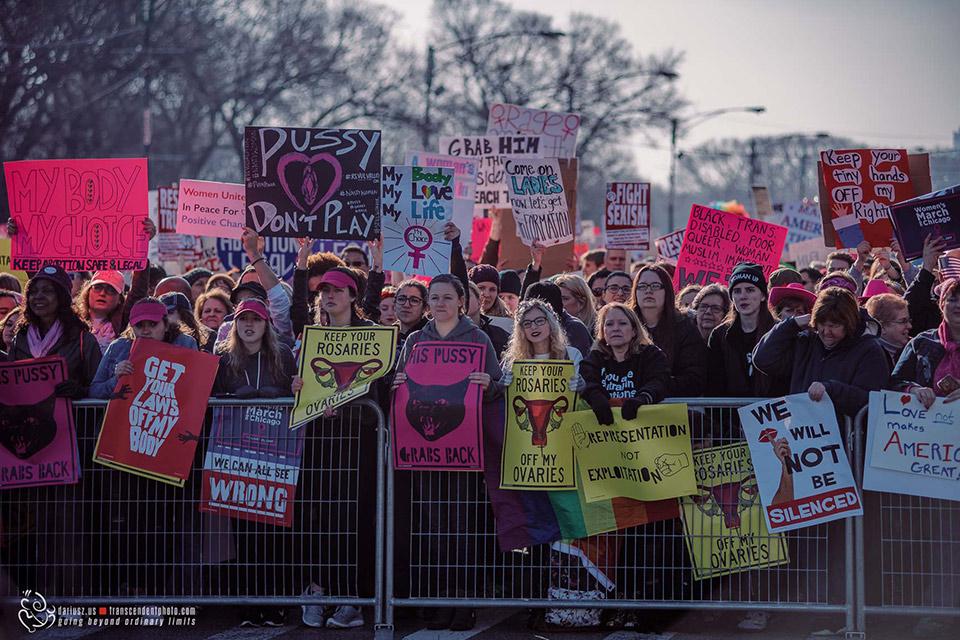 Marsz Kobiet w Chicago w roku 2017