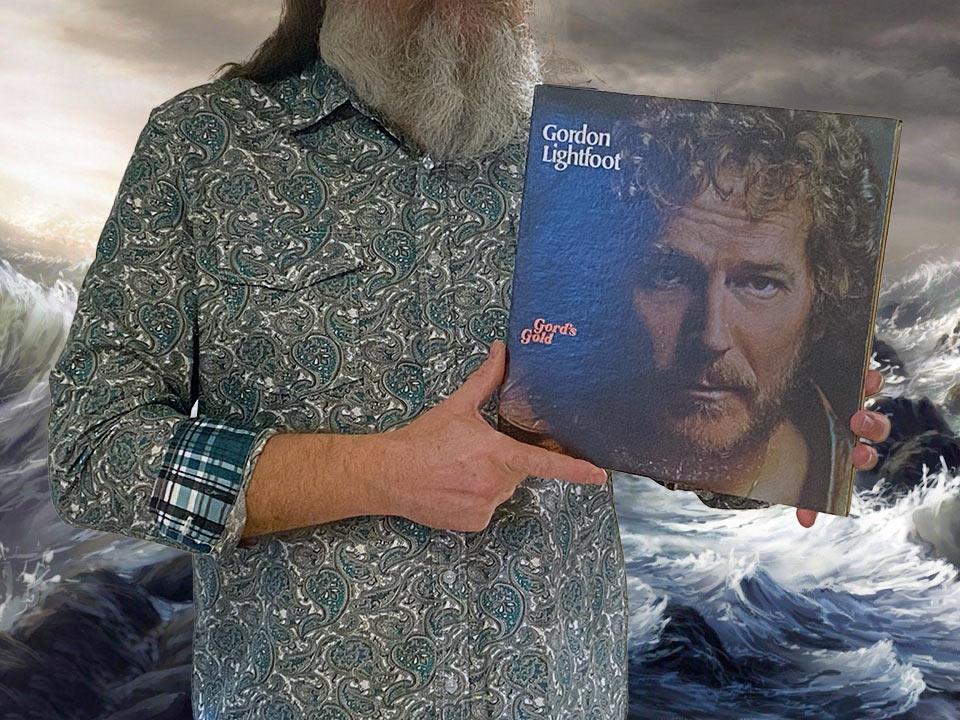 """Na tej fotografii prezentuję album Gordona Lightfoota zatytułowany """"Gord's Gold"""""""