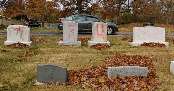 Michigan Jewish cemetery vandalized with 'TRUMP' and 'MAGA' graffiti