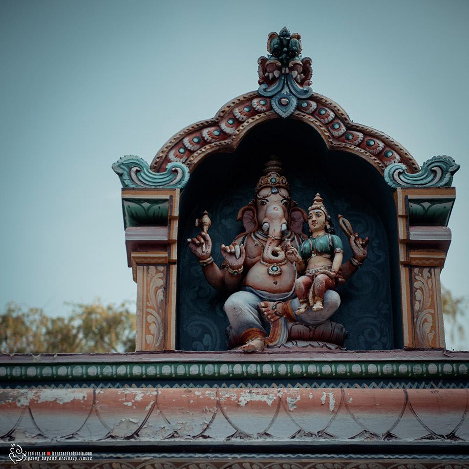 Kolorowa postać Lorda Ganeshy